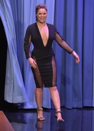 Ronda Rousey: The Tonight Show Starring Jimmy Fallon -08
