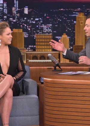 Ronda Rousey: The Tonight Show Starring Jimmy Fallon -09