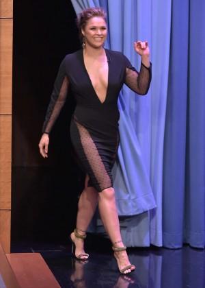 Ronda Rousey: The Tonight Show Starring Jimmy Fallon -10