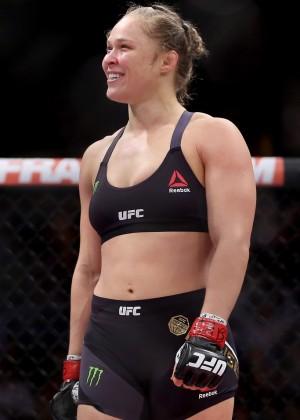 Ronda Rousey - UFC 190 Rousey v Correia at HSBC Arena in Rio de Janeiro