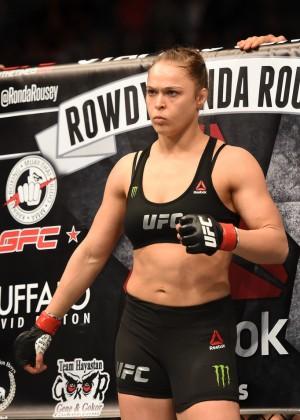 Ronda Rousey - UFC Women's Bantamweight Championship Bout at UFC 184 in LA