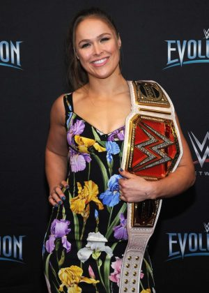 Ronda Rousey - WWE Evolution in New York