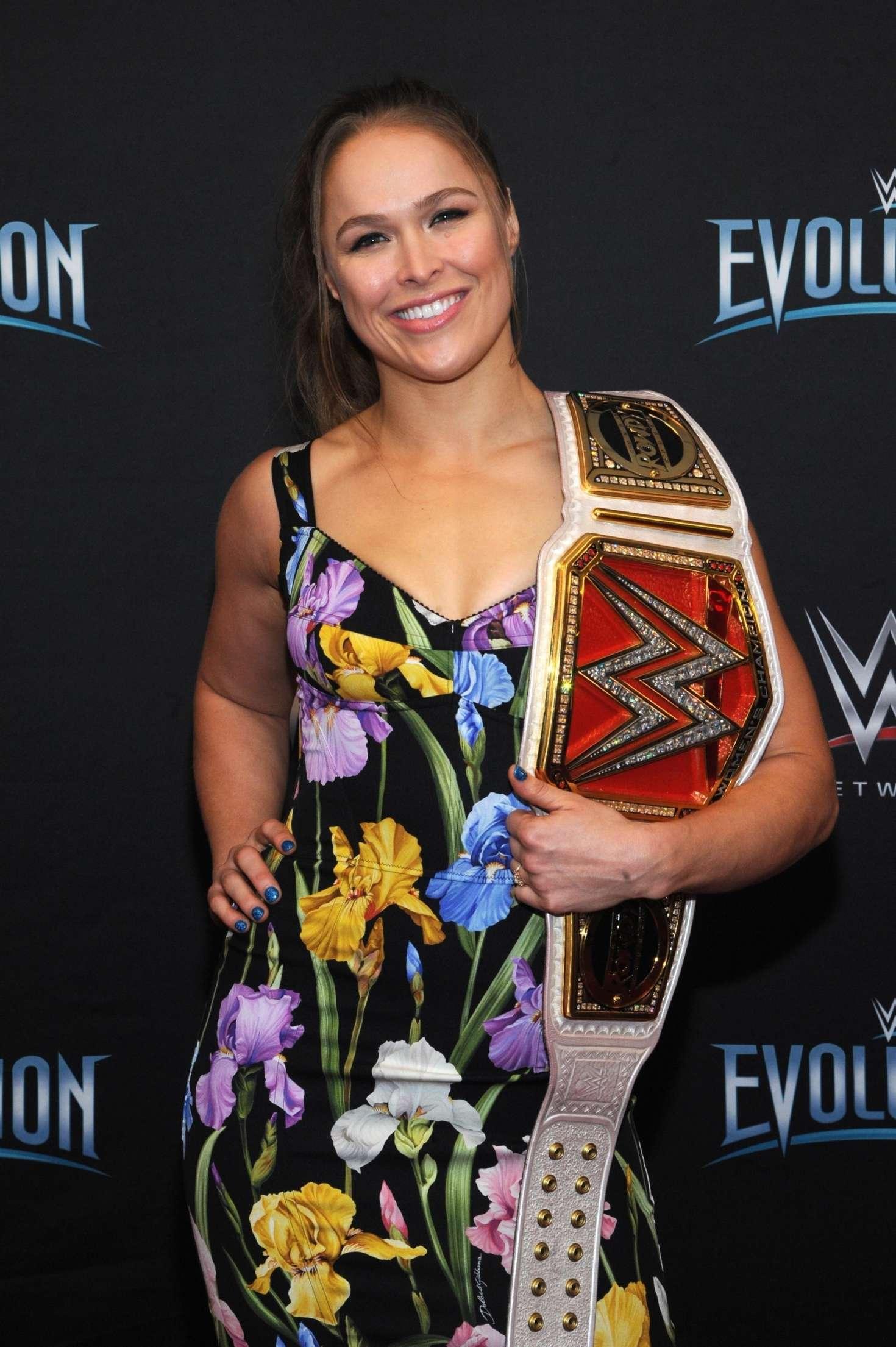 Ronda Rousey - WWE Evolution in New York