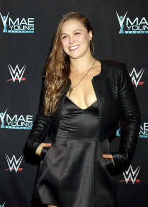 Ronda Rousey - WWE Presents Mae Young Classic Finale in Las Vegas