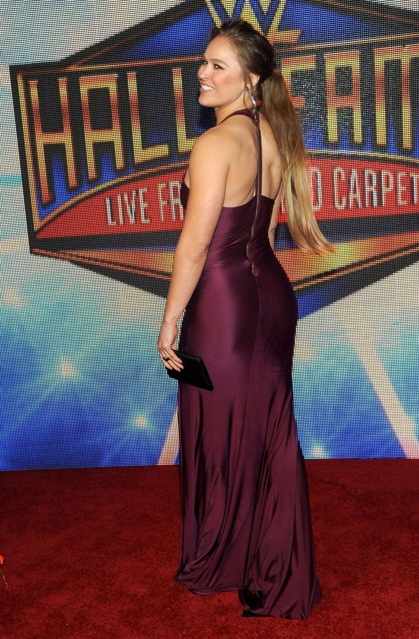 Ronda Rousey 2018 : Ronda Rousey: WWEs 2018 Hall Of Fame Induction Ceremony -04
