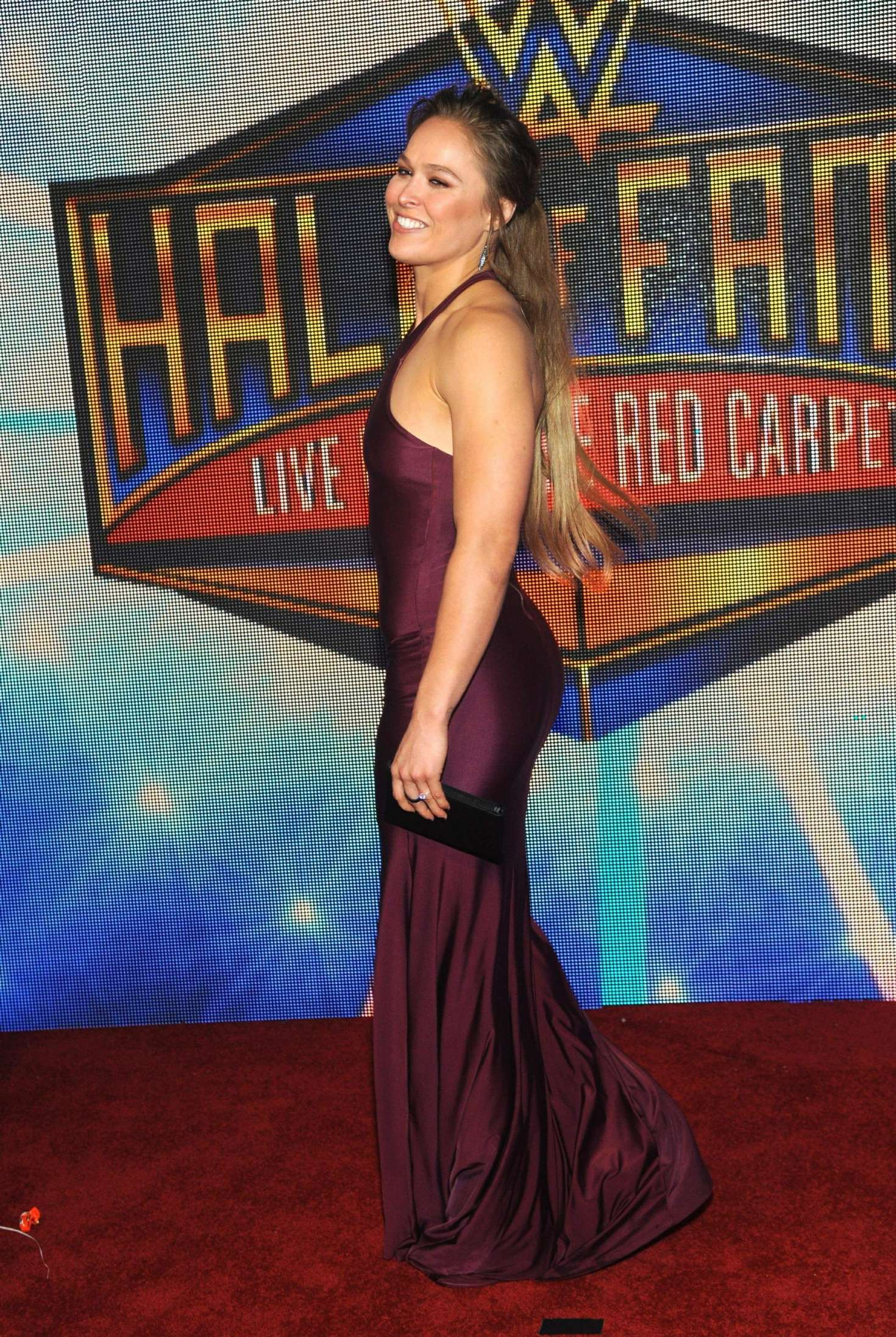 Ronda Rousey 2018 : Ronda Rousey: WWEs 2018 Hall Of Fame Induction Ceremony -05