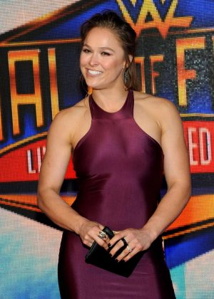 Ronda Rousey - WWE's 2018 Hall Of Fame Induction Ceremony in New Orleans
