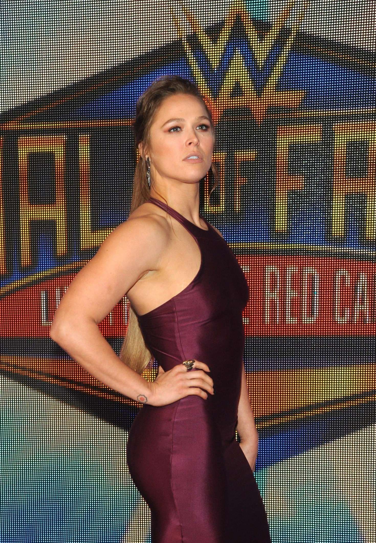 Ronda Rousey 2018 : Ronda Rousey: WWEs 2018 Hall Of Fame Induction Ceremony -10