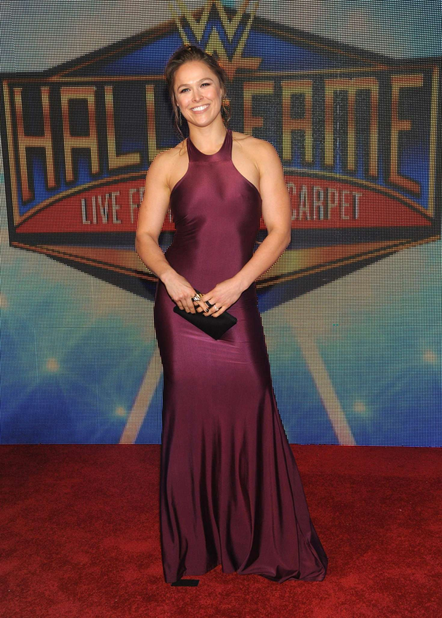 Ronda Rousey 2018 : Ronda Rousey: WWEs 2018 Hall Of Fame Induction Ceremony -11