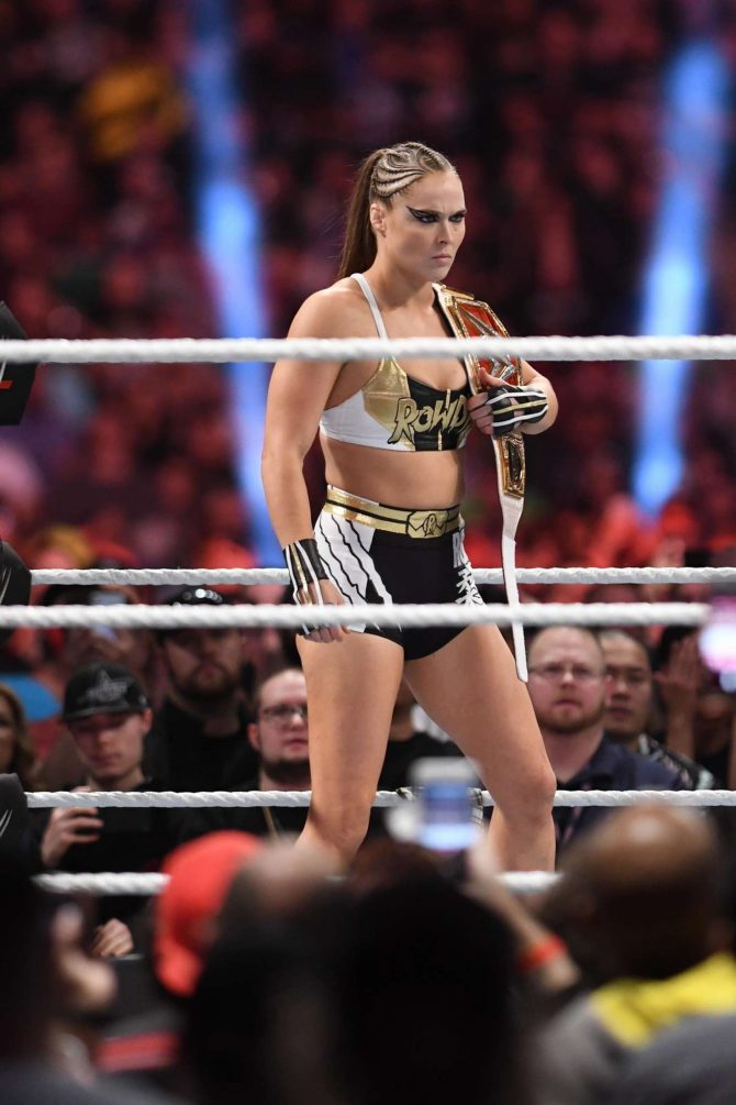 Ronda Rousey – WWE's 2019 Royal Rumble in Phoenix