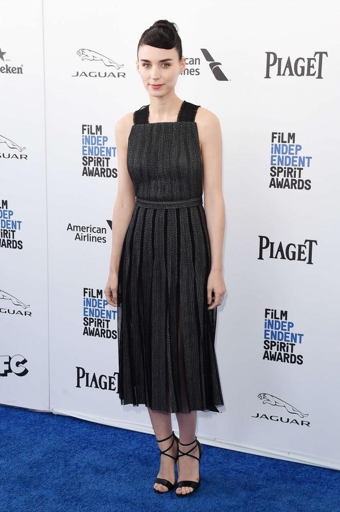 Rooney Mara - 2016 Film Independent Spirit Awards in Santa Monica