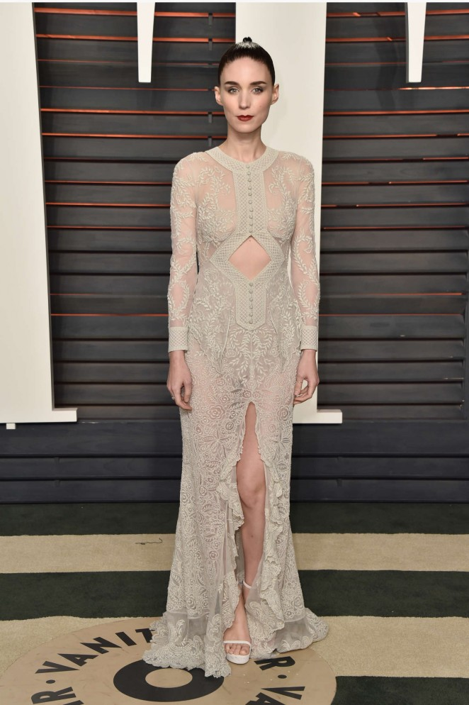 Rooney Mara - 2016 Vanity Fair Oscar Party in Beverly Hills