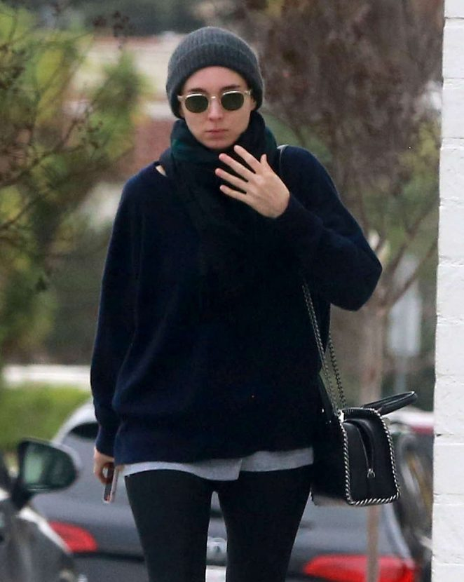 Rooney Mara at a spa in West Hollywood