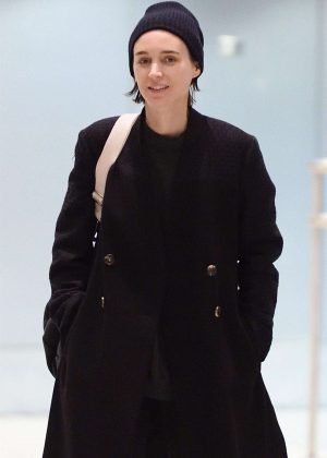 Rooney Mara at JFK Airport in NYC