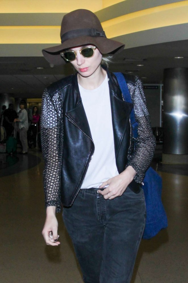 Rooney Mara at LAX Airport in Los Angeles