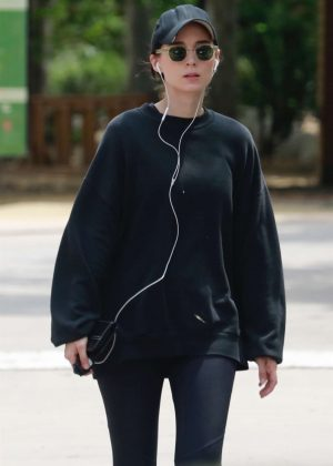 Rooney Mara at TreePeople Park in Beverly Hills