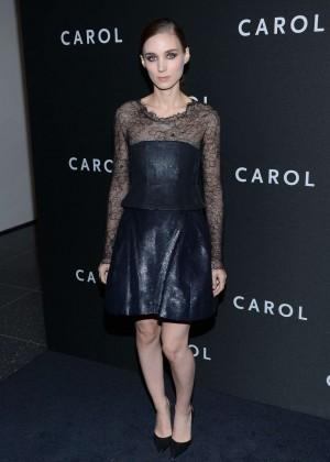 Rooney Mara - 'Carol' Premiere in New York