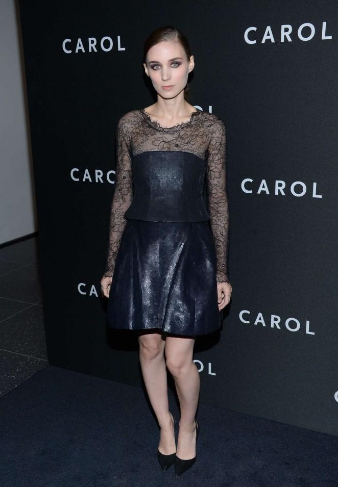 Rooney Mara – 'Carol' Premiere in New York