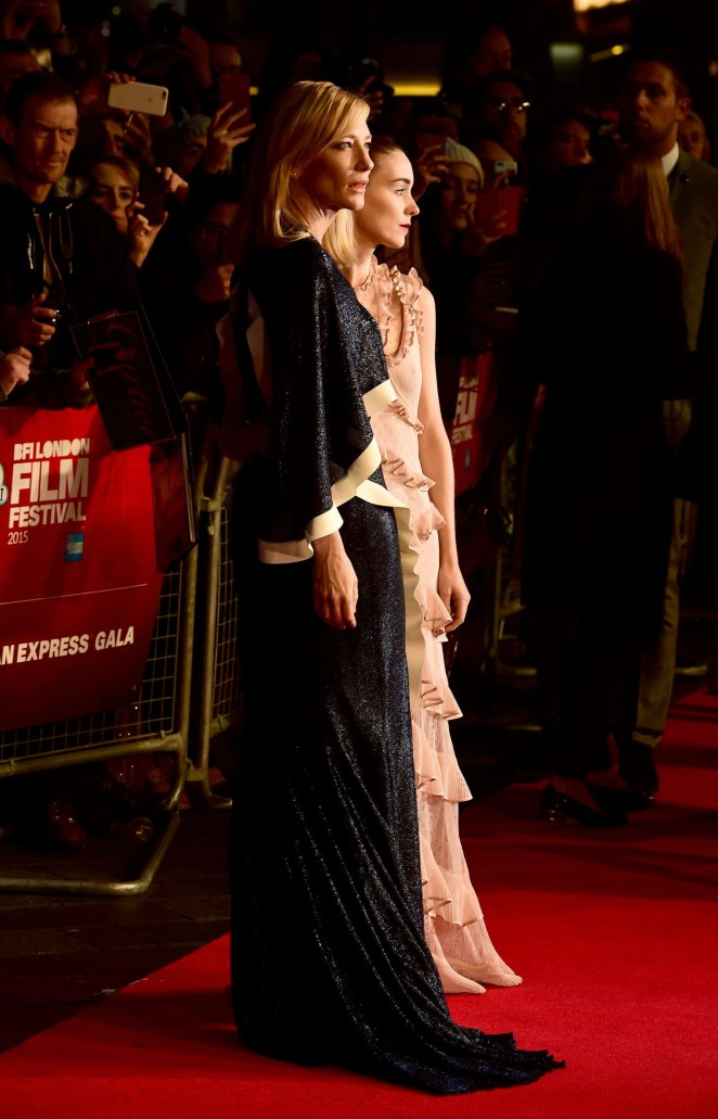 Rooney Mara 2015 : Rooney Mara: Carol Screening -15