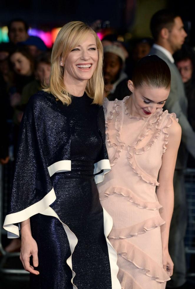 Rooney Mara 2015 : Rooney Mara: Carol Screening -29