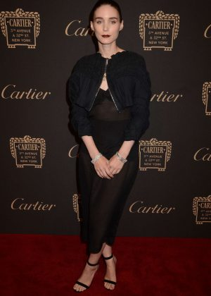 Rooney Mara - Cartier Store Grand Reopening in New York