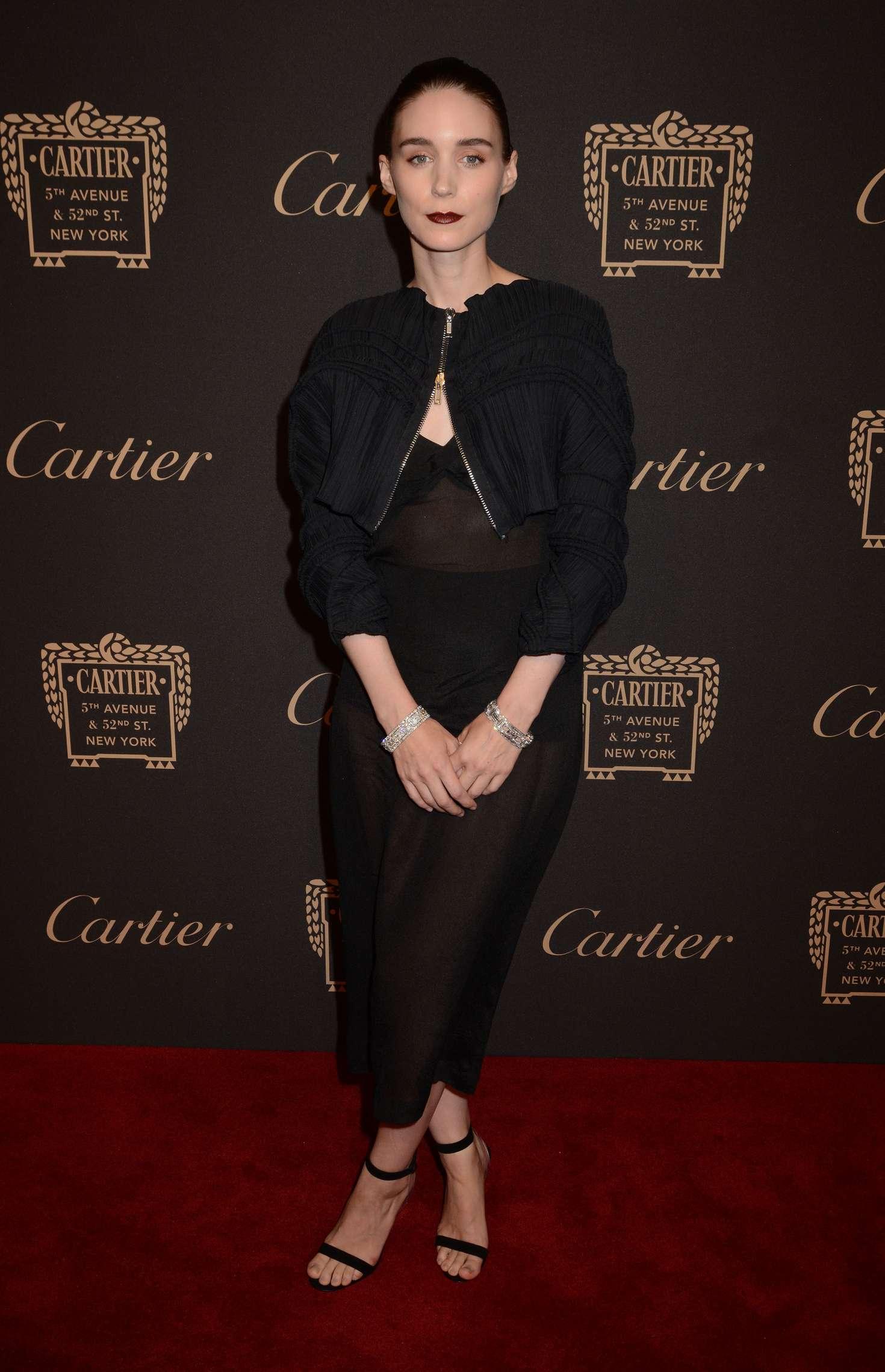Rooney Mara - Cartier Store Grand Reopening in New York