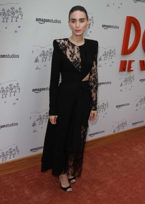 Rooney Mara - 'Don't Worry' Premiere in Los Angeles