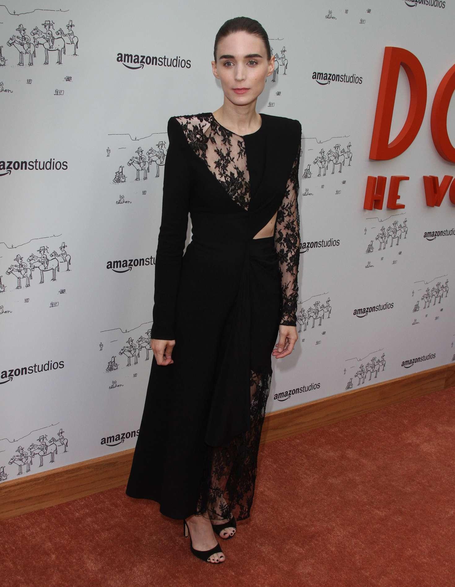 Rooney Mara 2018 : Rooney Mara: Dont Worry Premiere -10