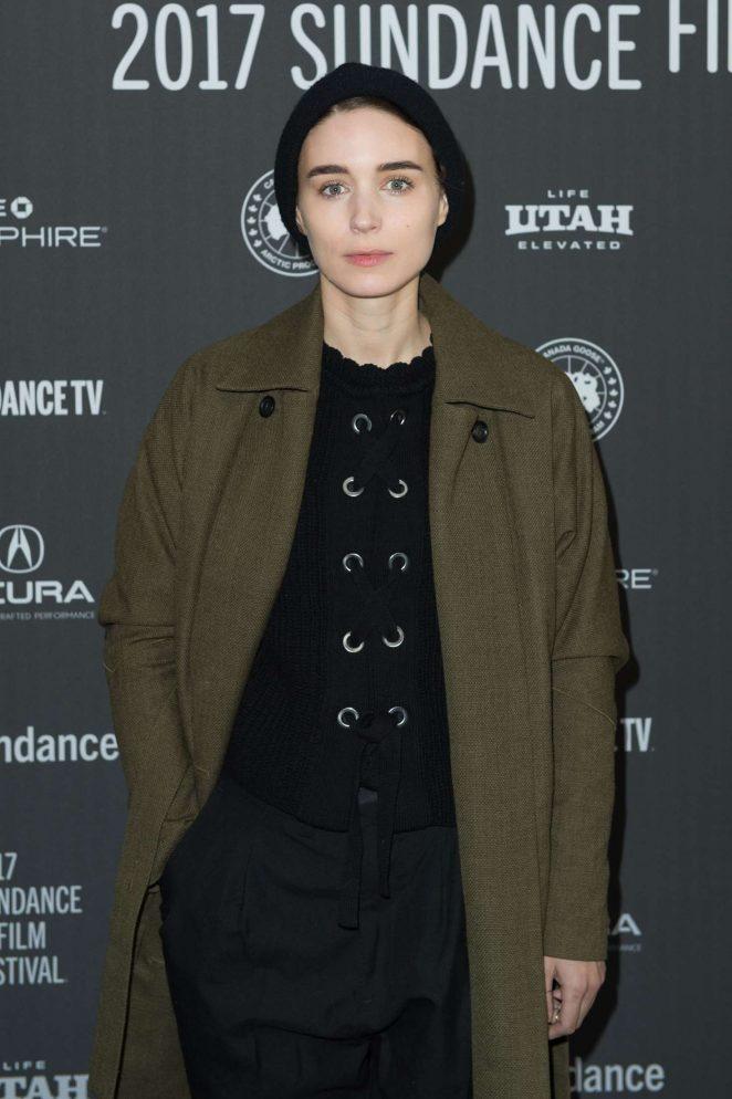 Rooney Mara - 'Ghost Story' Premiere at 2017 Sundance Film Festival in Utah