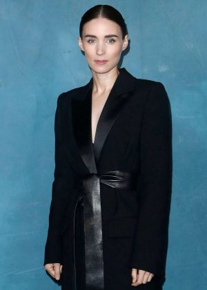 Rooney Mara - Givenchy Fashion Show in Paris
