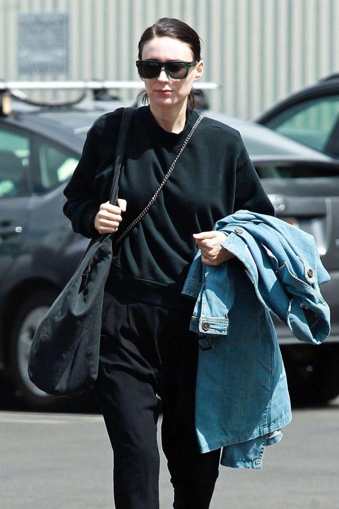 Rooney Mara in Black Out in Los Angeles
