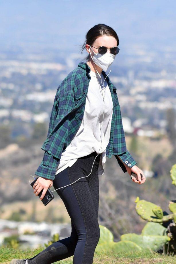 Rooney Mara - Is seen in Los Angeles