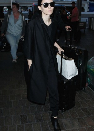 Rooney Mara - LAX airport in LA