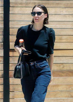 Rooney Mara - Leaves a salon in Los Angeles
