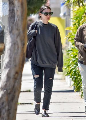 Rooney Mara - Out and about in LA