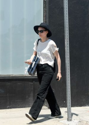 Rooney Mara out in LA