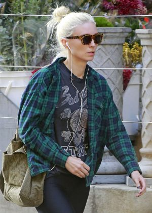 Rooney Mara out in New York
