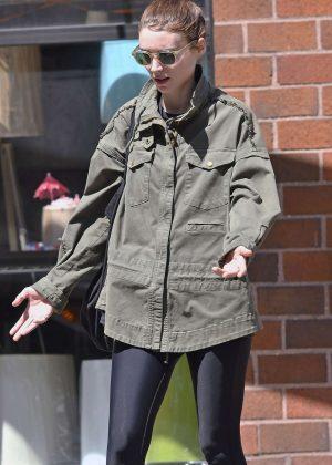Rooney Mara out in SoHo