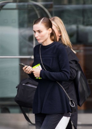 Rooney Mara out in Tribeca