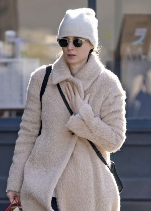 Rooney Mara Shopping in New York City