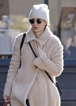 Rooney Mara Shopping in New York City