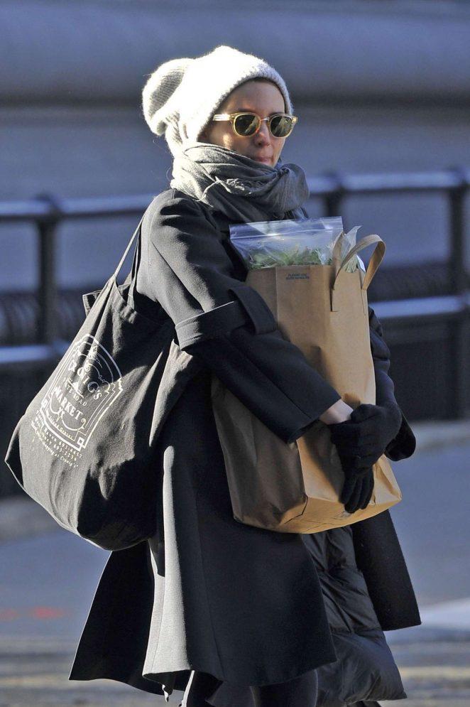 Rooney Mara Shopping in New York