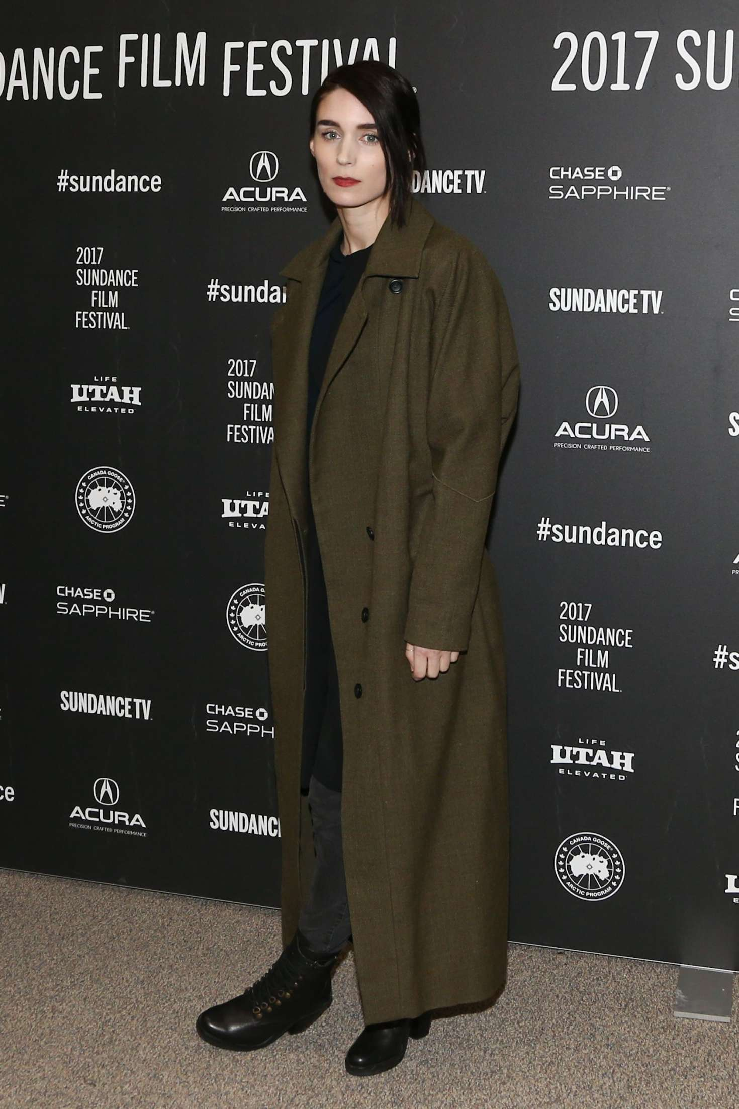 Rooney Mara - 'The Discovery' Premiere at 2017 Sundance Film Festival in Utah
