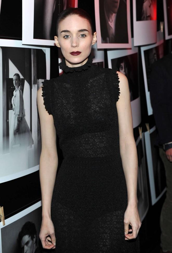Rooney Mara: W Magazines Best Performances Party -02