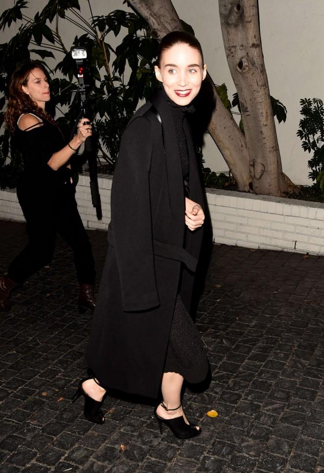 Rooney Mara: W Magazines Best Performances Party -07