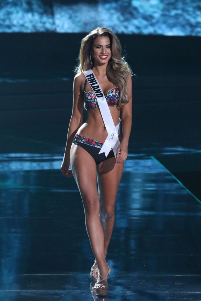 Rosa-Maria Ryyti - Miss Universe 2015 Preliminary Round in Las Vegas