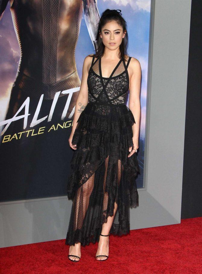 Rosa Salazar – 'Alita: Battle Angel' Premiere in Los Angeles