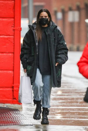 Rosalia - Seen after shopping in Soho in New York