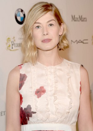 Rosamund Pike - 2015 Women in Film Pre-Oscar Cocktail Party in LA