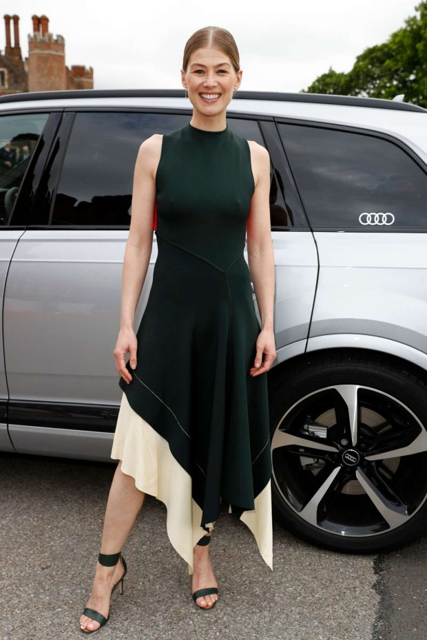 Rosamund Pike - Audi Sentebale Concert in London